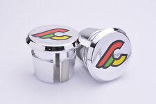 Cinelli chrome Plugs Caps Tapones guidon bouchons lenker retro New