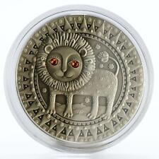 Belarus 20 rubles Zodiac Signs series Leo silver coin 2009