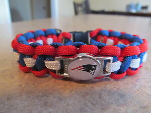 Super Bowl LIII Second Place  New England Patriots NFL Paracord Bracelet