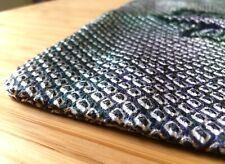 genuine Japanese Vintage silk Shibori Kimono Haori jacket indigo hand crafted