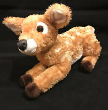 "Aurora World Farrah White Tailed Deer 12"" Flopsie Plush Floppy Stuffed Animal"