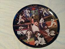 Derek Jeter New York Yankees Danbury Mint Collector Plate Mlb Baseball Ny