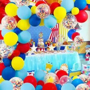 92pcs Thomas Train Red Balloon Arch Kit Garland Birthday Party DIY Decoration
