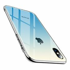TORRAS case BLUE for iPhone X tempered glass clear TPU hybrid cover JAPAN Import