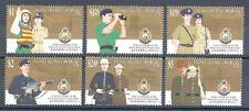 Hong kong China Sc# 693-98 Royal police force MNH