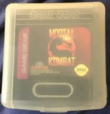 Mortal Kombat II (Sega Game Gear, 1993) In Plastic Case