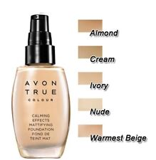 AVON Calming Effects Mattifying Foundation - Different Shades 30 ml