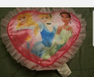 Disney Princess Heart Pillow Cinderella pink