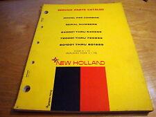 New Holland 995 Combine Parts Manual Catalog Book NH OEM #3