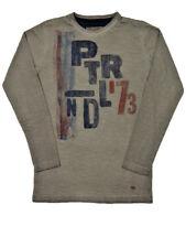 Jungen T-Shirt Langarm Shirt 140 152 176 Longsleeve Pullover Sweater PETROL IND.