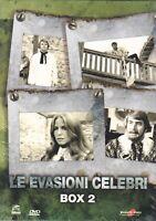 3 Dvd Cofanetto **LE EVASIONI CELEBRI** BOX 02 nuovo sigillato 1972