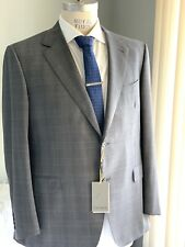 CANALI~Men's Gray IMPECCABILE Wool Suit 48 R (Eu 58) NWT~Italy