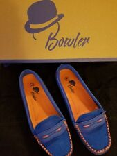 Bowler Apparel and Footwear Florida Gator Loafers Women's 7 Blue & Orange New