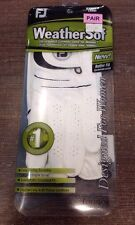 Footjoy Womens Weathersof Golf Gloves 1 X Pair Large