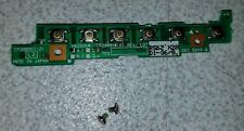 Fujitsu Lifebook T4210 T4215 T4220 T4000 Series Button Controller CP288911-Z1