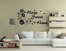 Home Sweet Home Wall Quotes Wall Stickers Living Room Wall Art UK 194