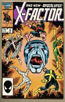 X-Factor #6-1986 nm 9.4 Marvel X-Men X Men 1st full Apocalypse Ron Frenz