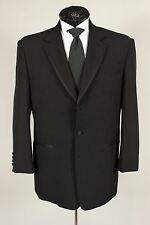 Vitali 42S Mens Black Tuxedo Dinner Formal Jacket Satin Trimmed Lapels 670