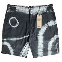 Levi's XX Chino Standard Taper Shorts NWT Tie-Dye Blue Men's Size 36