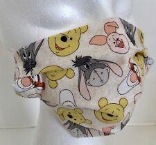 Winnie the Pooh Print Reusable Face mask 100 percent cotton
