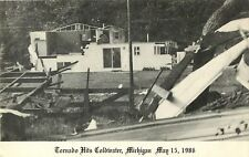 A Home in Ruins, Tornado Hits Coldwater MI, May 15, 1986