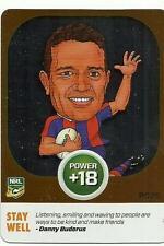 2015 NRL Power Play NEWCASTLE KNIGHTS DANNY BUDERUS POWER CARD PC25