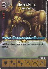 Umber Hulk Greater Beast #89 - Dungeons & Dragons Battle for Faerun Dice Masters