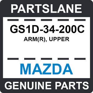 GS1D-34-200C Mazda OEM Genuine ARM(R), UPPER