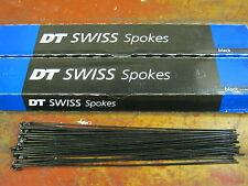 72x DT Swiss DT-Swiss Speiche Competition Schwarz 262 mm