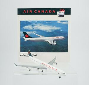 Vintage Herpa Air Canada Airlines Airbus A340-300 1:500 Airplane 504546