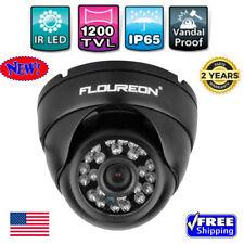 1200TVL NTSC Vandalproof CCTV DVR Home Security Dome Camera IR Night Vision CMOS