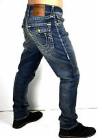 True Religion Men's $329 Geno Relaxed Slim Super T Brand Jeans - ME08NYK1