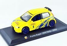 1/43 IXO - NEUF EN BTE VITRINE :  FIAT PUNTO ABARTH 1600 SUPER RALLY 2002