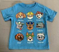 Toddler Boys NICKELODEON Paw Patrol Chase Rider Marshall Skye T-Shirt - 3T