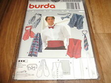 BURDA Herren-Schnittmuster 3403         6 Teile:  WESTE+ACCESSOIRES        46-60