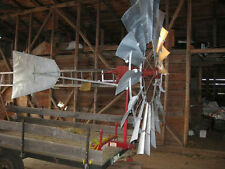 Aermotor Windmill Rebuilt 8ft A-702 with New 27ft Windmill Tower