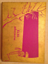 University of Montevallo,  Alabama College, 1973 Yearbook, ANNUAL, Montage