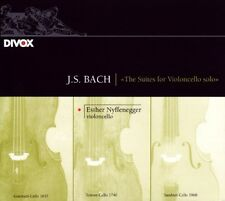 Esther NYFFENEGGER / Suites for Violoncello Solo - J.S. BACH / (2 CD) / NEUF