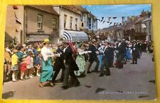 Cornwall Postcard - The Helston Furry Dance 1970's unposted