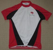 Womens Voler Cycling Biking Zipper Short Sleeve Jersey Large Back 3 Pockets