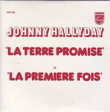 ☆ CD Single Johnny HALLYDAY La terre promise Juke box ☆ NEUF