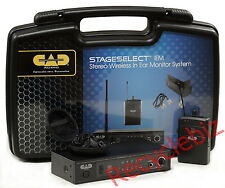 New CAD Audio StageSelect IEM Wireless In Ear Monitor System Formerly Stagepass