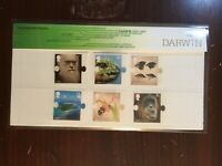 "GB Presentation Pack ""Darwin"" with Mini Sheet Stamps all Superb Rest Good++"