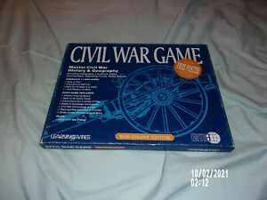 CIVIL WAR GAME DELUXE EDITION EMA LEARNING GAME