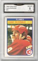 1982-83 O-Pee-Chee #51 Lanny McDonald | Graded NM/MT | Calgary Flames