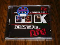 UK WILMINGTON 2012 LIVE FIRST EDITION CD IN THE DEAD OF NIGHT PROGRESSIVE ROCK