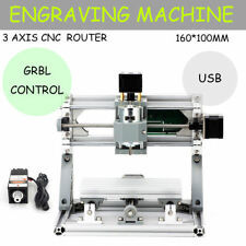 Mini CNC 1610+500mw laser CNC Router Engraving PCB Milling Machine+GRBL Control