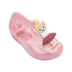 Mini Melissa Ultragirl Ballerina Girl Jelly Shoes Girls Toddler Sandals US 6-11