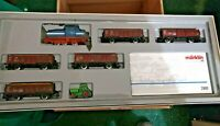 Marklin HO Sugar Beet Train Set 2861 in original box