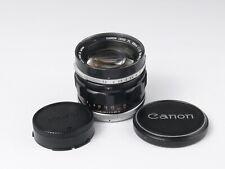 Canon FD/FL 58mm F1.2 Film camera lens